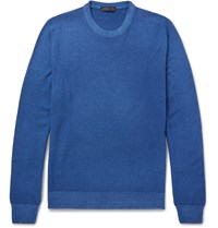 Etro Wool Sweater Blue