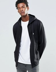 French Connection Hoodie Zip Through Black