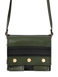 Kenzo Small Bike Grained Leather Shoulder Bag
