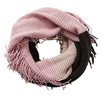 Betty Barclay Chunky Knit Snood Taupe Rose