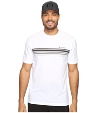 Travis Mathew Pentridge White Men's Short Sleeve Knit