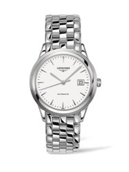 Longines Analog Stainless Steel Automatic Bracelet Watch No Color