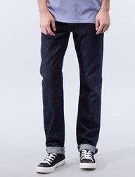 Maison Kitsune Japanese Slim Cut Denim Jeans