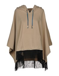 Jijil Capes And Ponchos Beige