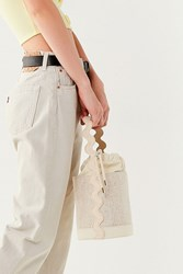 Urban Outfitters Velma Bucket Bag Neutral