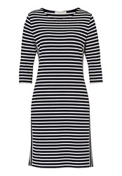 Betty Barclay Sporty Striped Dress Blue