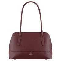 Radley Kennington Leather Medium Shoulder Bag Burgundy