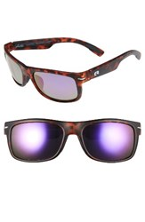 Rheos Men's Anhingas Floating 59Mm Polarized Sunglasses Tortoise Purple Tortoise Purple