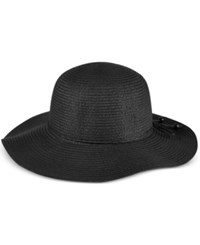 August Hats Forever Floppy Sun Hat Black