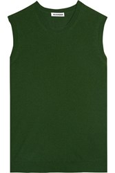 Jil Sander Cashmere Sweater Green