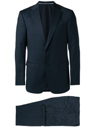 Z Zegna Two Piece Formal Suit Blue