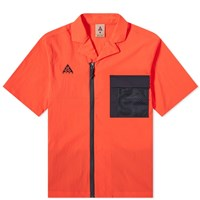 Nike Acg Short Sleeve Shirts Red