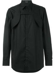 Marcelo Burlon County Of Milan 'Jatibonico' Harness Shirt Black