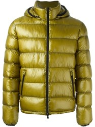 Herno Hooded Padded Jacket Green