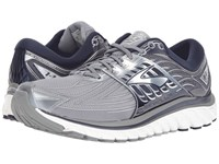 Brooks Glycerin 14 Primer Grey Peacoat Navy Silver Men's Running Shoes Gray