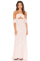 Flynn Skye Err Night Maxi Dress Blush