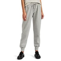 Current Elliott Dallas Cotton Blend Fleece Sweatpants Gray