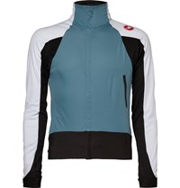 Castelli Alpha Wind Fz Double Layer Cycling Jersey Blue