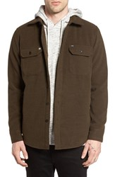 Obey Men's The Jack Jacket Heather Army