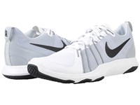 Nike Flex Train Aver White Pure Platinum Black Men's Cross Training Shoes