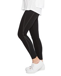 Spanx Everywear Mesh Contour Leggings Very Black