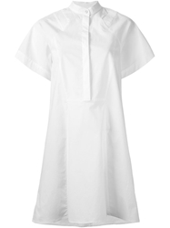 3.1 Phillip Lim Trapeze Smock Dress White