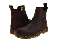 Dr. Martens Work Fusion St Bark Industrial Bear Boots Burgundy