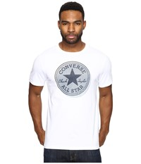 Converse Microdots Chuck Patch Tee White Men's T Shirt