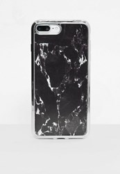 Missguided Black Marble I Phone 7 Case