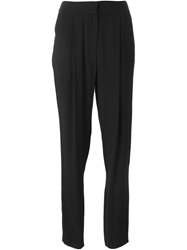 Adam By Adam Lippes Adam Lippes Cigarette Trousers Black