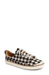 Women's Reef Low Sneaker Black Check