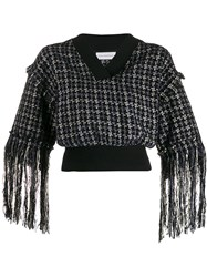 Faith Connexion Cropped Fringed Sweater 60