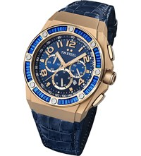 Tw Steel Ce4007 Special Edition Kelly Rowland Rose Gold Watch