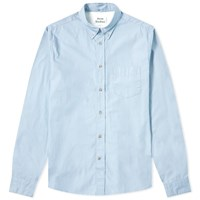 Acne Studios Isherwood Soft Poplin Shirt Blue