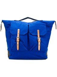 Ally Capellino Frank Backpack Blue