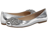 Blue By Betsey Johnson Ever Silver Metallic Women's Bridal Shoes