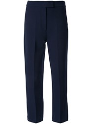 Camilla And Marc Marsh Cropped Trousers Blue