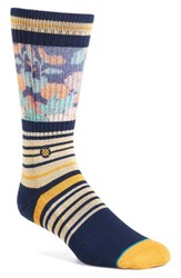 Stance Men's 'Scenic' Crew Socks Navy