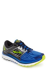 Brooks Men's 'Glycerin 14' Running Shoe Electric Blue Black Punch