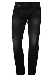 Tom Tailor Denim Straight Leg Jeans Black Denim