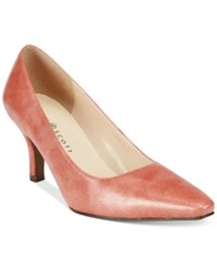 Karen Scott Clancy Pumps Only At Macy's Women's Shoes Pink Lizard