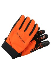 Quiksilver Method Gloves Flame Orange