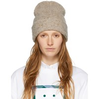 Acne Studios Brown Wool And Cashmere Peele Beanie