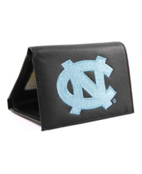 Rico Industries North Carolina Tar Heels Trifold Wallet Black
