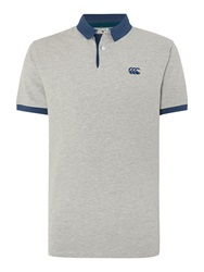 Canterbury Of New Zealand Classic Ccc Pique Polo Silver