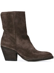 Officine Creative 'Rivette' Ankle Boots Brown