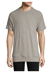 2Xist Terry Short Sleeve Sweatshirt Grey Heather