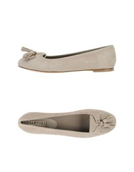 Sartore Footwear Ballet Flats Women Light Grey