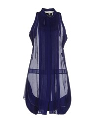 Aquilano Rimondi Short Dresses Blue