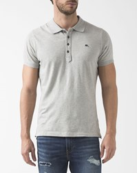 Diesel Grey Small Logo Heal Polo Shirt